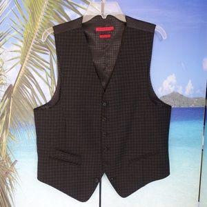 John Varvatos Star USA Red Label 'Serge' Vest
